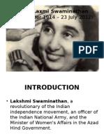 Capt. Lakshmi