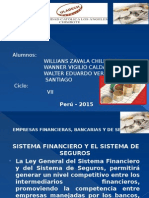 EMPRESAS FINANCIERAS DE BANCA Y SEGURO