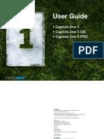 Capture One Manual de Usuario Inglés v5