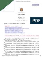 Legea Nr. 1324 Din 10.03.1993 Privatizarii Fondului de Locuinte