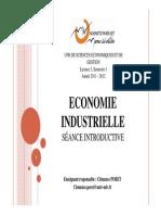 Economie Industrielle