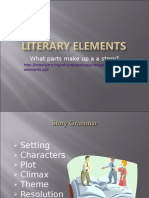 Literary Elements Theme