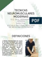 TECNICAS NEUROMUSCULARES MODERNAS1
