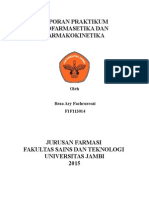 Laporan Praktikum Biofarmasetika Dan Farmakokinetika
