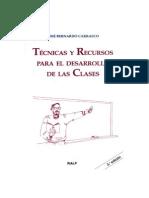Tecnicas y Recursos para el desarrollo de las clases- Carrasco.pdf