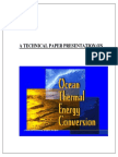 Thermal Energy Conversion