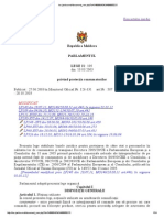 Legea Nr. 105 Din 13.03.2003 Privind Protectia Consumatorilor