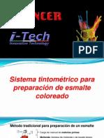 [ES] Sistema Tintométrico Para Preparación de Esmaltes Coloreados