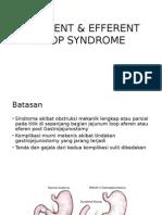 AFFERENT & EFFERENT  Syndrome