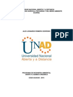 Pre Informe Quimica Organica Lab unad