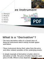 Derivatives Instrument