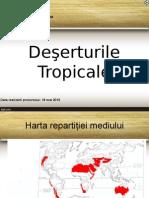 Deşerturile Tropicale powerpoint