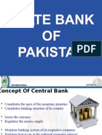State Bank of Pakistan Presentation