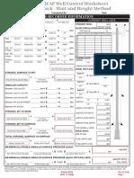 6.1.5 - Well Control Worksheet & Pump Data