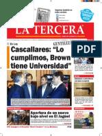 Diario La Tercera 08.10.2015