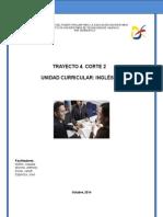 Guía Inglés II. Corte 2. Trayecto 4, Oct 2014