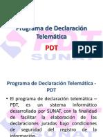 ProgramadeDeclaraciónTelemática-PDT contable