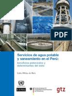 servicio de agua potable