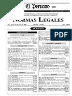 DS 008 2003 SA Reglamento Ley 27853 - El Peruano