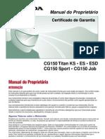 CG 150 Titan, Sport e Job 2004