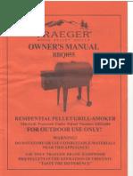 Traeger BBQ055 Manual