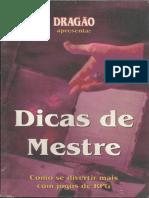 Dicas de Mestre - Dragão Brasil