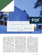 L'Architettura Salvera Il Mondo_Stefano Serafini