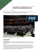 Así Se Reparten Las Comisiones en San Lázaro - Grupo Milenio