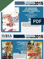 Proximas Novedades Ivrea - Octubre 2015
