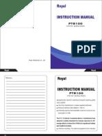 P8100 Instruction Manual(PT8100).pdf