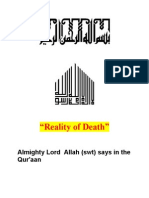 Reality of Death