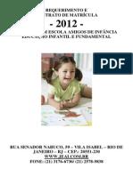 Contrato Matricula 2012