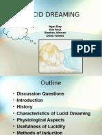 Lucid Dreaming Presentation