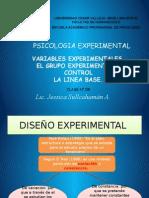 Variables Experimentales