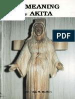 The Meaning of Akita by John M. Haffert