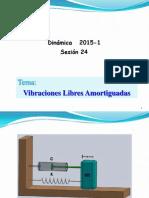 Sesion 24 2015 2 Vibracion Libre Amortiguada