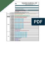 Calendario Geral EAD 2015.4 Semestral