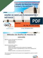 Diseno de Mezclas - Ana Torre