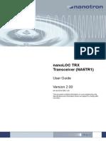 nanoLOC NA5TR1 UserGuide