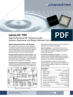 NanoLOC TRX Transceiver Flyer FOL V20 2009-11-02