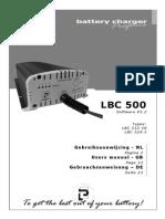 Lbc 500 Manual