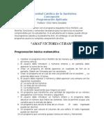 Ejercicios Programacion Aplicada