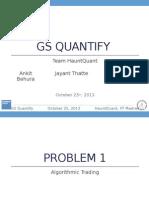 GS Quantify IITM
