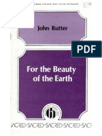 Beauty of the Earth SATB