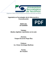 medios digitales soportados en la web