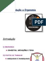 Aula de Ergonomia - Tipos de ergonomia