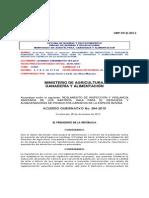 Acuerdo gubernativo 384-2010