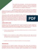 Ordenamiento Fiscal Juridico Marco Legal Educacion Vial Cultura Tributaria Ornato Limpieza de Vias y Espacios Publicos Etc Normal Del Sur Isela