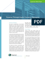 Thinking Through Exotic Currency Payments