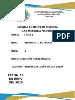 GRAFICOS Y AJUSTES DE CUERVAS FISICA I